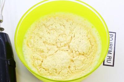 Рецепт: блины из кукурузной муки