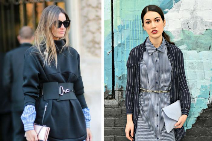 С чем носить платье-рубашку: 8 стильных идей весны 2017