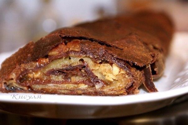 Мы любим все необычное: Шоколадный штрудель
