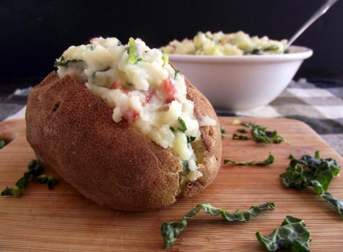 Картофель с начинкой