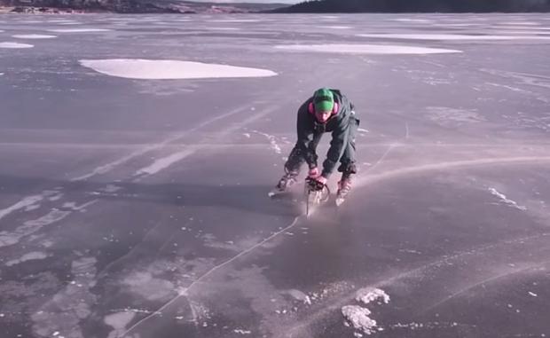 Как кататься на коньках с по…