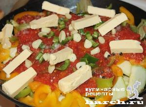 ragu is govyadini s kabachkami i baklaganami 13 Рагу из говядины с кабачками и баклажанами