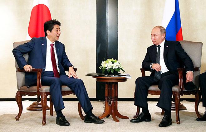 На возвращенных Россией Япон…