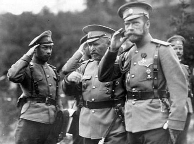 Как русские цари готовились …