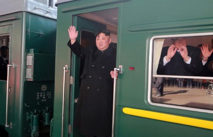 Как выглядит собственный бронепоезд Ким Чен Ына