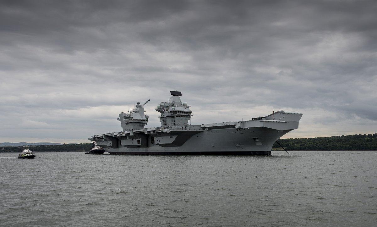 России нечем угрожать британскому авианосцу