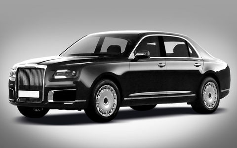 «Хочу как у Путина»: очередь за автомобилями «Кортежа»