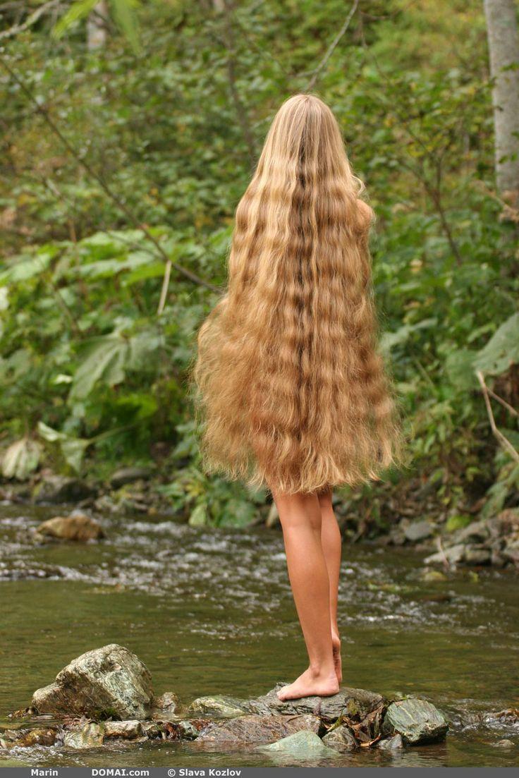 Девушки с очень длинными косами фото