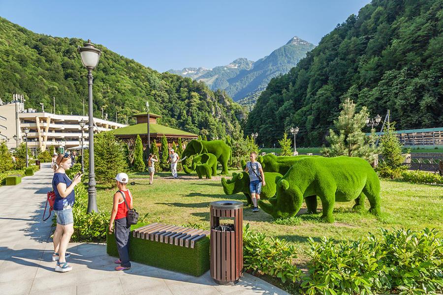 Парк «Зеленая Планета» в Сочи