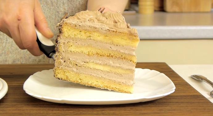 Торт «Нежность»: Название этого торта полностью соответствует его содержанию