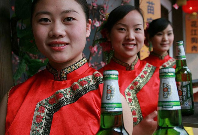 Как варят пиво в Китае
