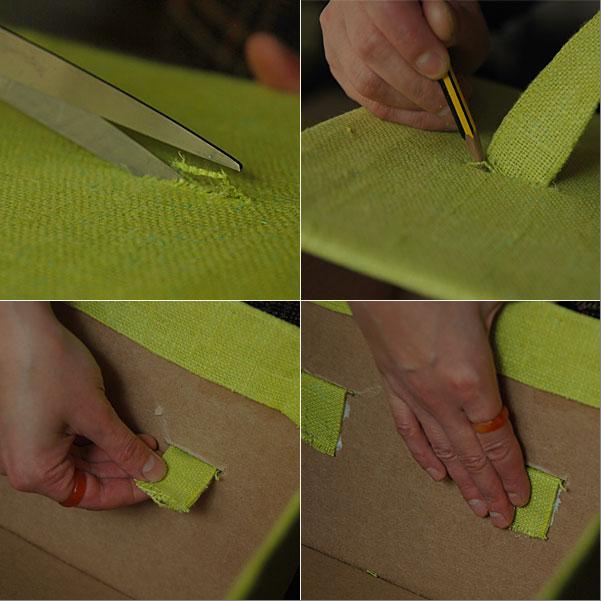 Как красиво обделать коробку своими руками