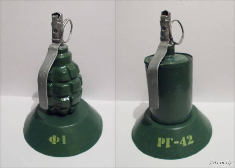 Что произвести проще: Ф-1 или РГ-42