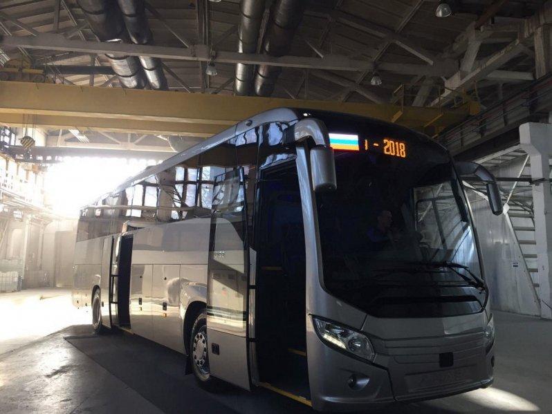 Новый автобус ЛиАЗ для Чемпионата мира по футболу 2018