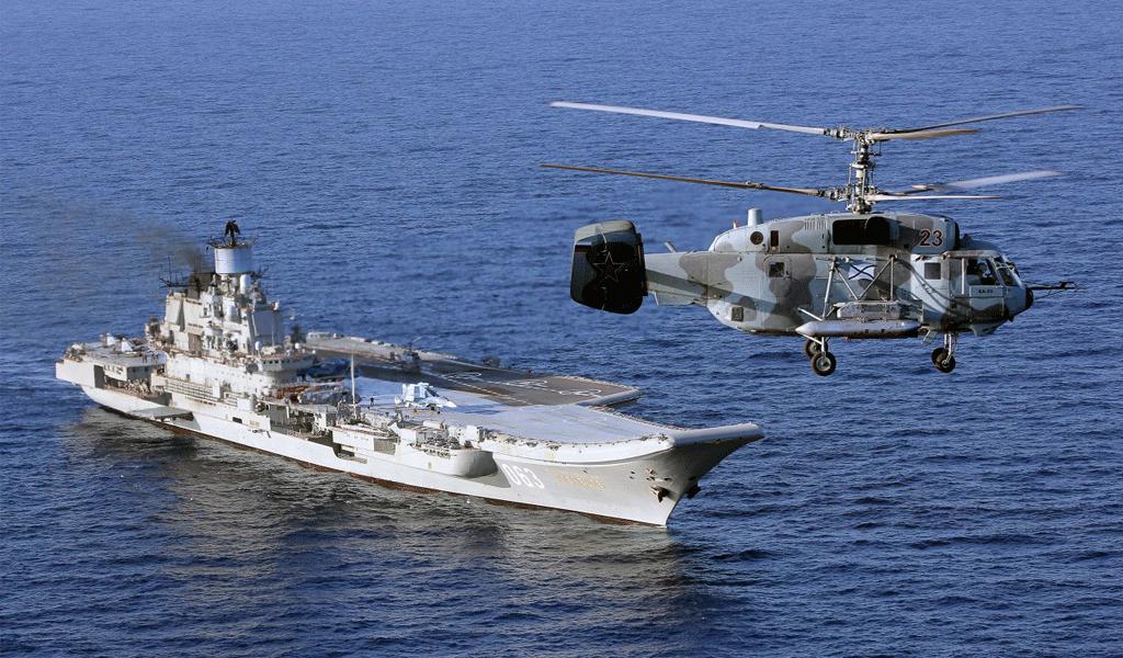 Россия и Сирия начала совместные морские учения в Средиземном море