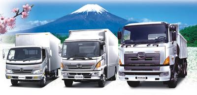 Японские грузовики как игрушечные