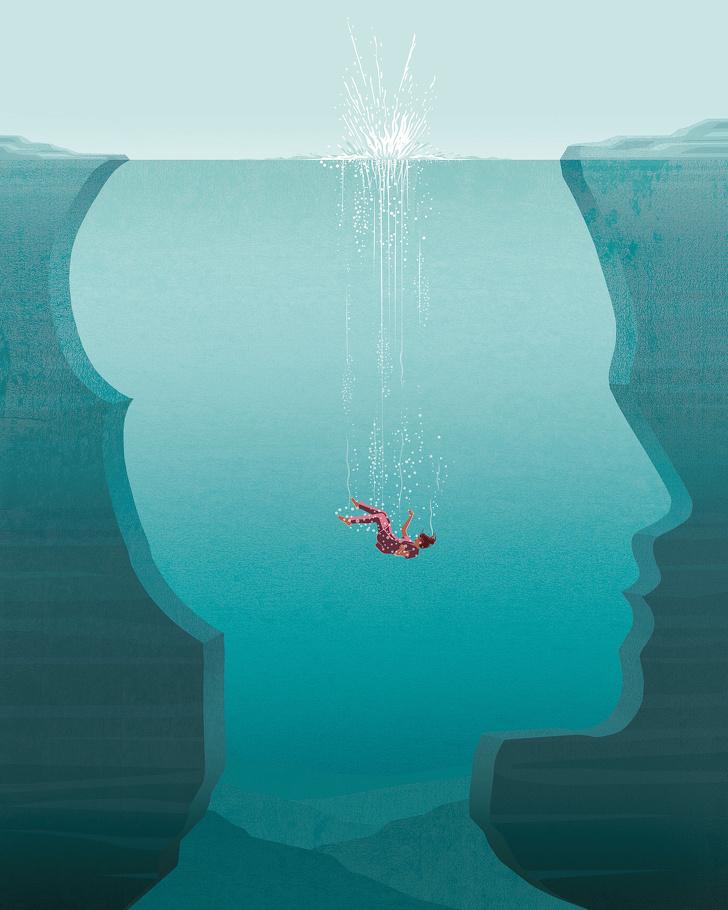 16+иллюстраций отхудожника, который небоится показать жизнь такой, какая она есть насамом деле
