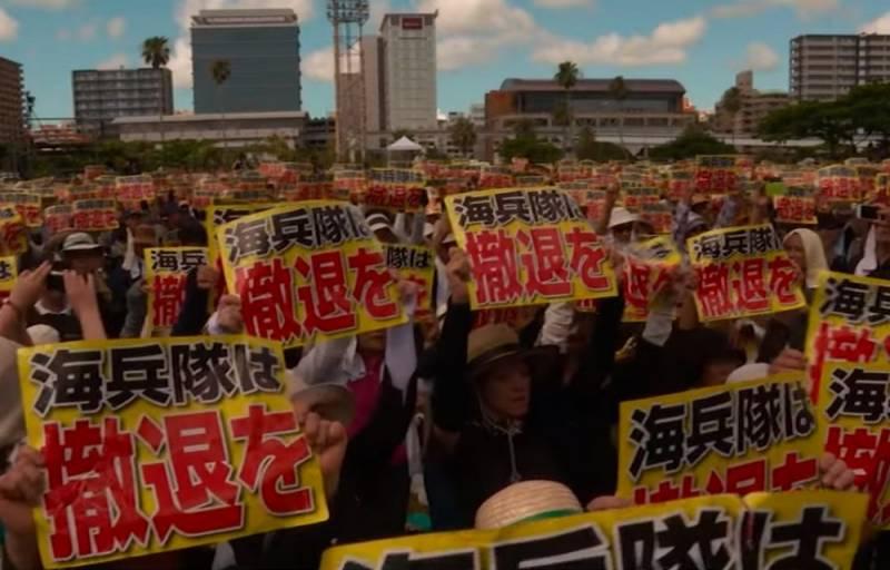 Американский военный убил японку и покончил с собой в Окинаве