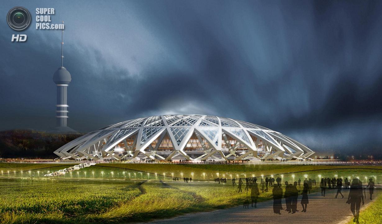 Россия. Футбольный стадион в Самаре. (Russia 2018)