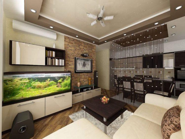 Дизайн интерьера: 5 способов зонирования гостиной