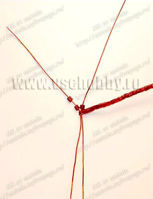 плетем лепестки четвертого круга бисерной розы своими руками