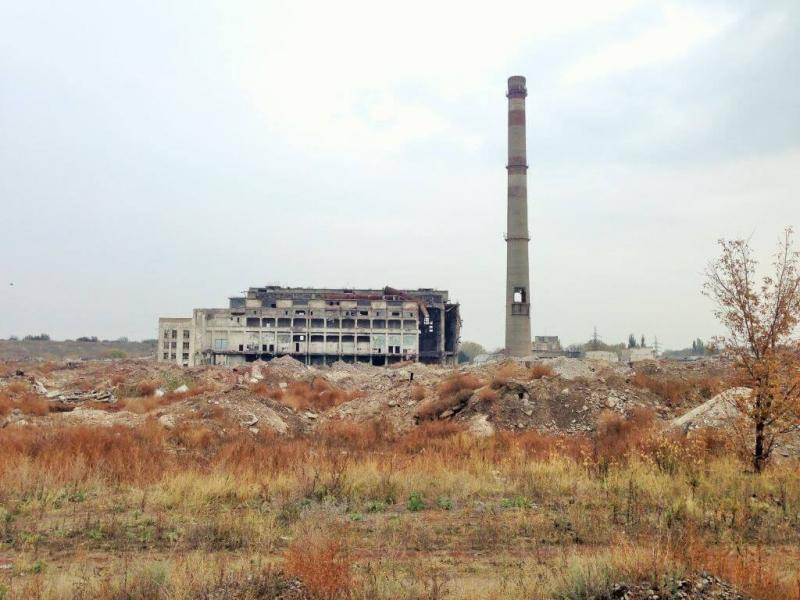Нацистские боевики захватили территорию Донецкой фильтровальной станции