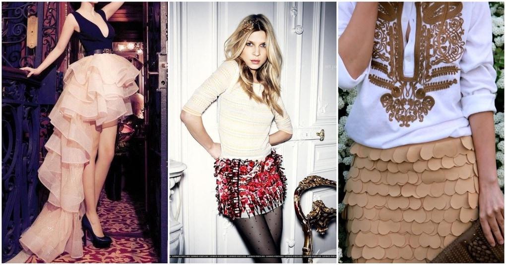 Нарядные юбки к новогоднему торжеству. 30 необычных идей