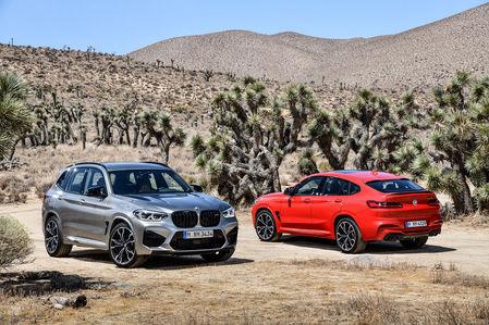 BMW рассекретила самые крутые версии кроссоверов X3 и X4