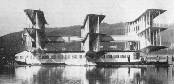 Caproni Ca.60 на озере Маджоре, 1921 год.   Фото: raravia.com.