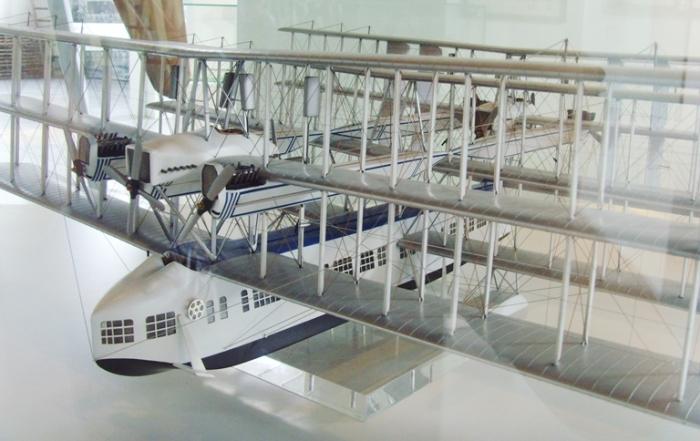 Масштабная модель летающей лодки Caproni Ca.60.   Фото: upload.wikimedia.org.