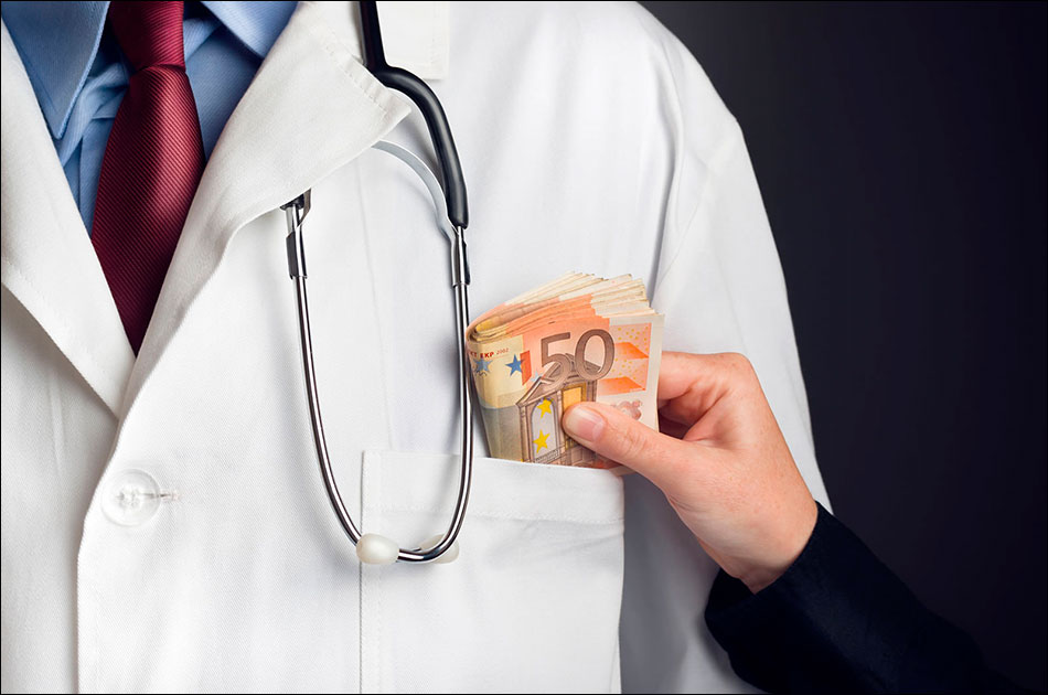 Коррупция в ЕС, ч.3: взятки врачам