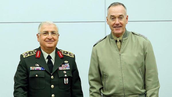 Военачальники США иТурции обсудили ситуацию вСирии вштаб-квартире НАТО