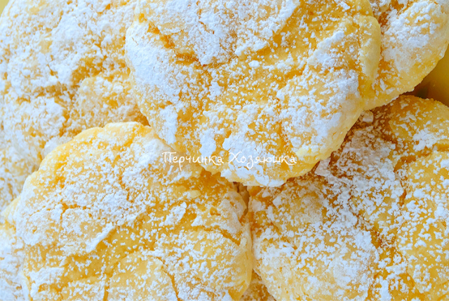 Мое самое любимое лимонное печенье из творожного теста: Мягкое тесто с приятным вкусом и ароматом лимона!
