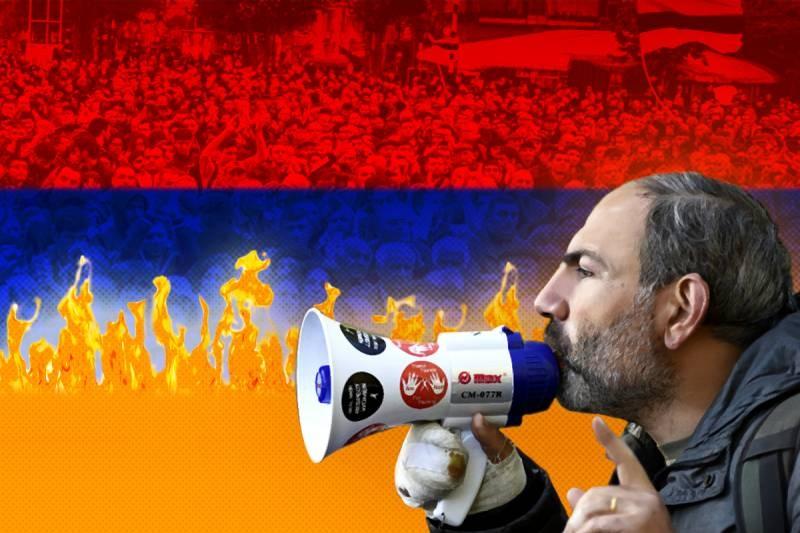 """Бархатная революция"" Армени…"