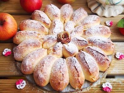 Отрывной яблочный пирог