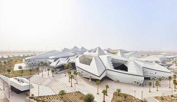 Потрясяющая архитектура исследовательского центра по проекту Захи Хадид в Эр-Рияде