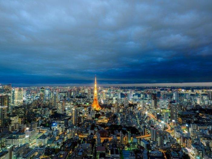 Роскошные панорамы Токио токио, факты, фото