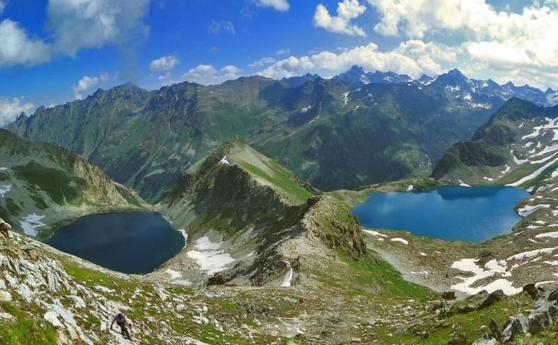 Озеро Карачай (Россия) наша планета, озера, самые опасные