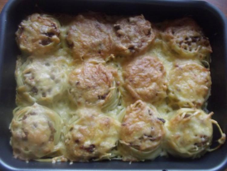 макароны гнезда духовке рецепт фото