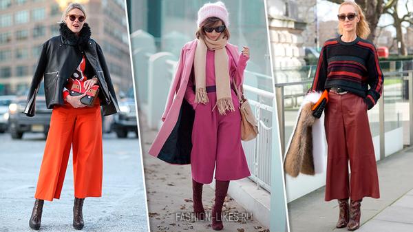13 стильных образов с кюлотами, которые в силе повторить каждая модница