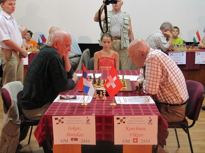 Шахматный поединок Корчной - Ивков