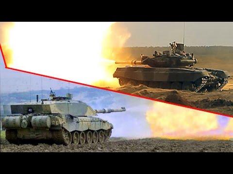 Т-90 против «Челленджера-2»: схватка двух танков