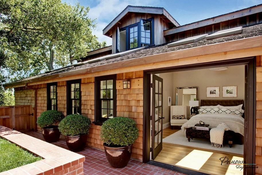 Дом из красного глиняного кирпича долговечен и надежен