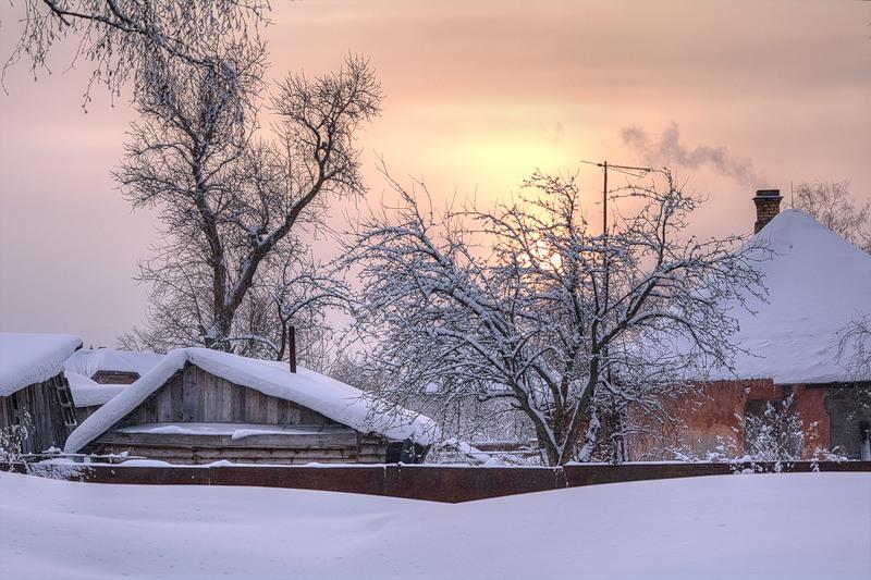 Дачный сезон до самого снега