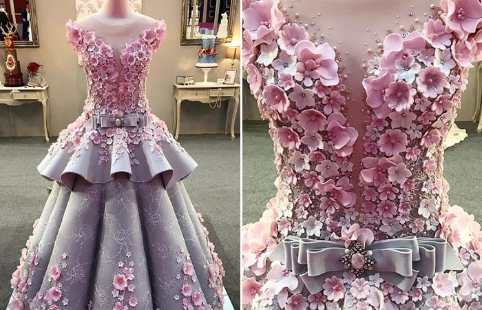 Рискнете надеть?: Создан изумительный торт- свадебное платье в натуральную величину