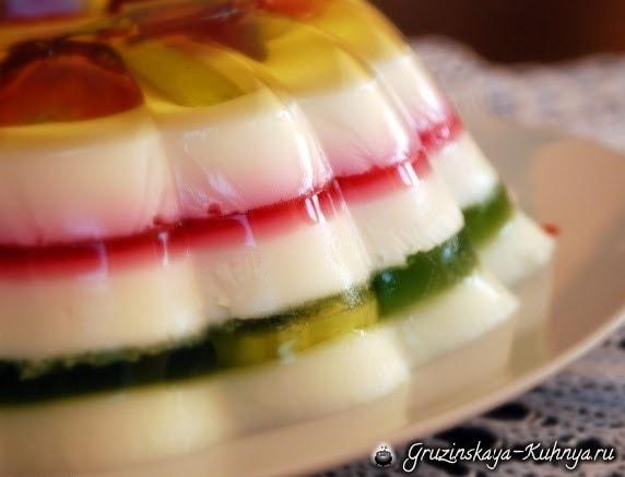 Рецепт желейного торта