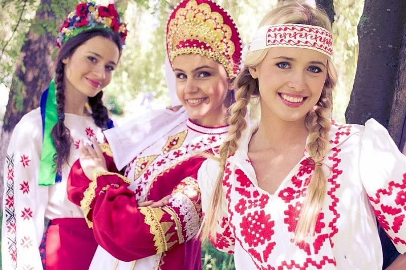 Красавицы россии и национальности