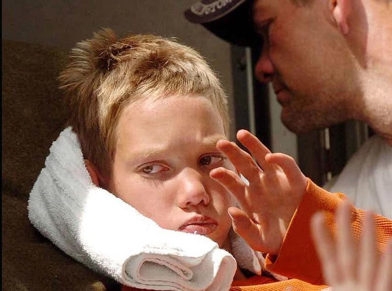 Бреннан Хокинс - потерявшийся бойскаут дети, наедине с природой, опасность, спасение