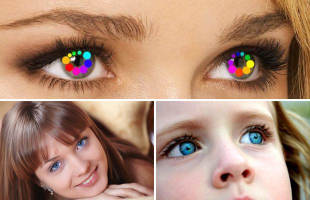 От чего зависит цвет глаз?