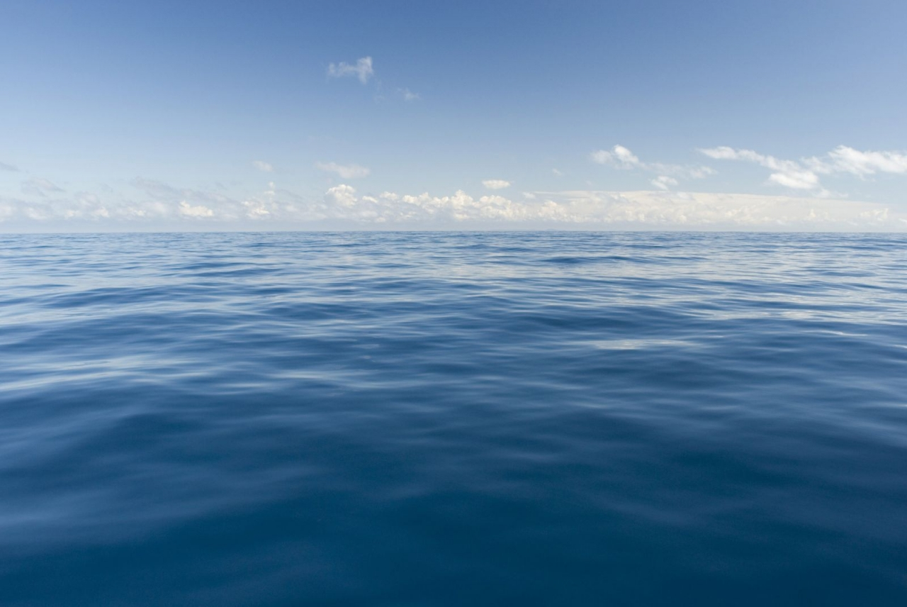 Почему океан голубого цвета?